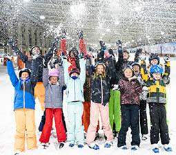 schoolreisje snowworld